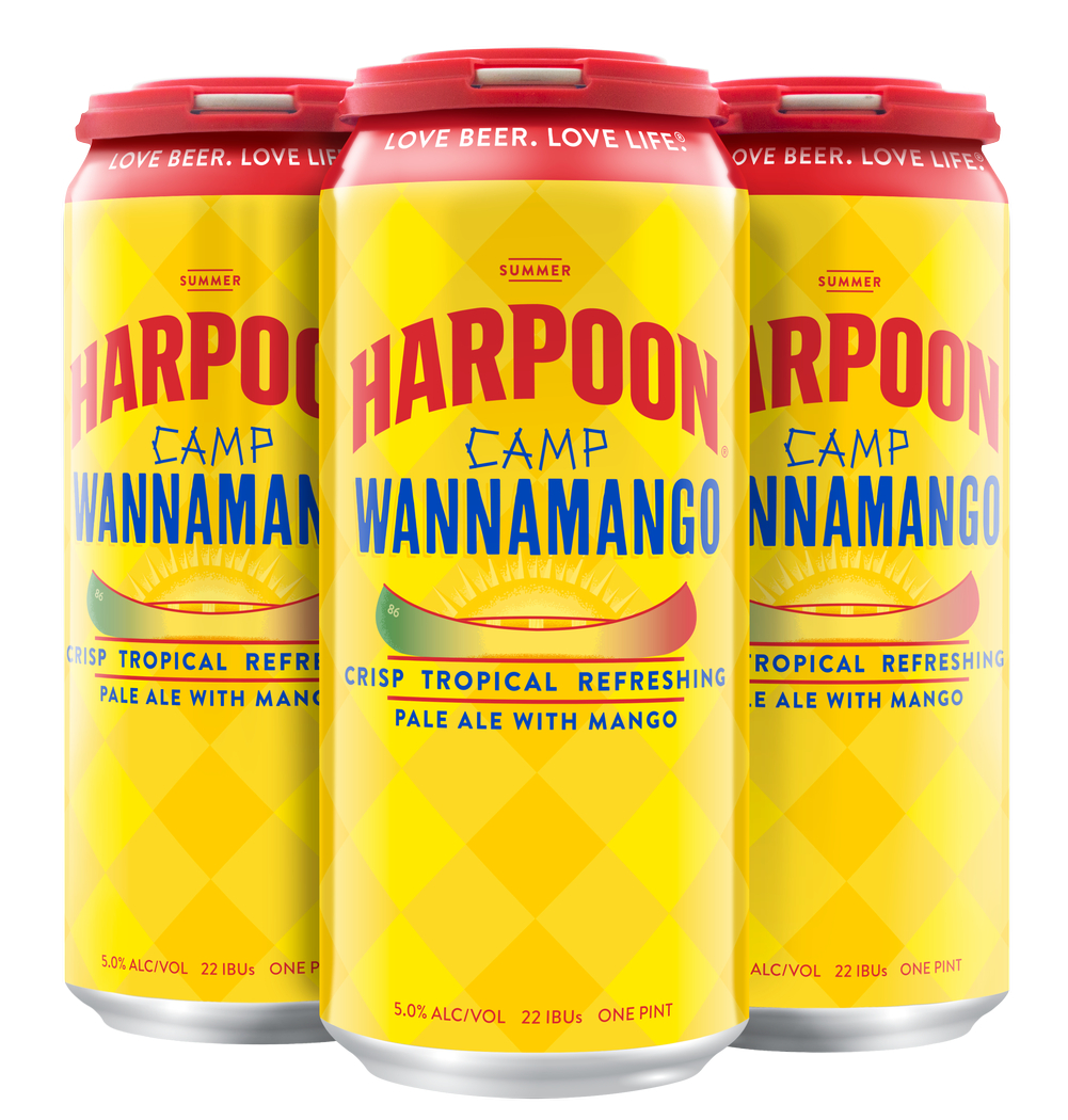 16 oz Camp Wannamango 4-pack Cans