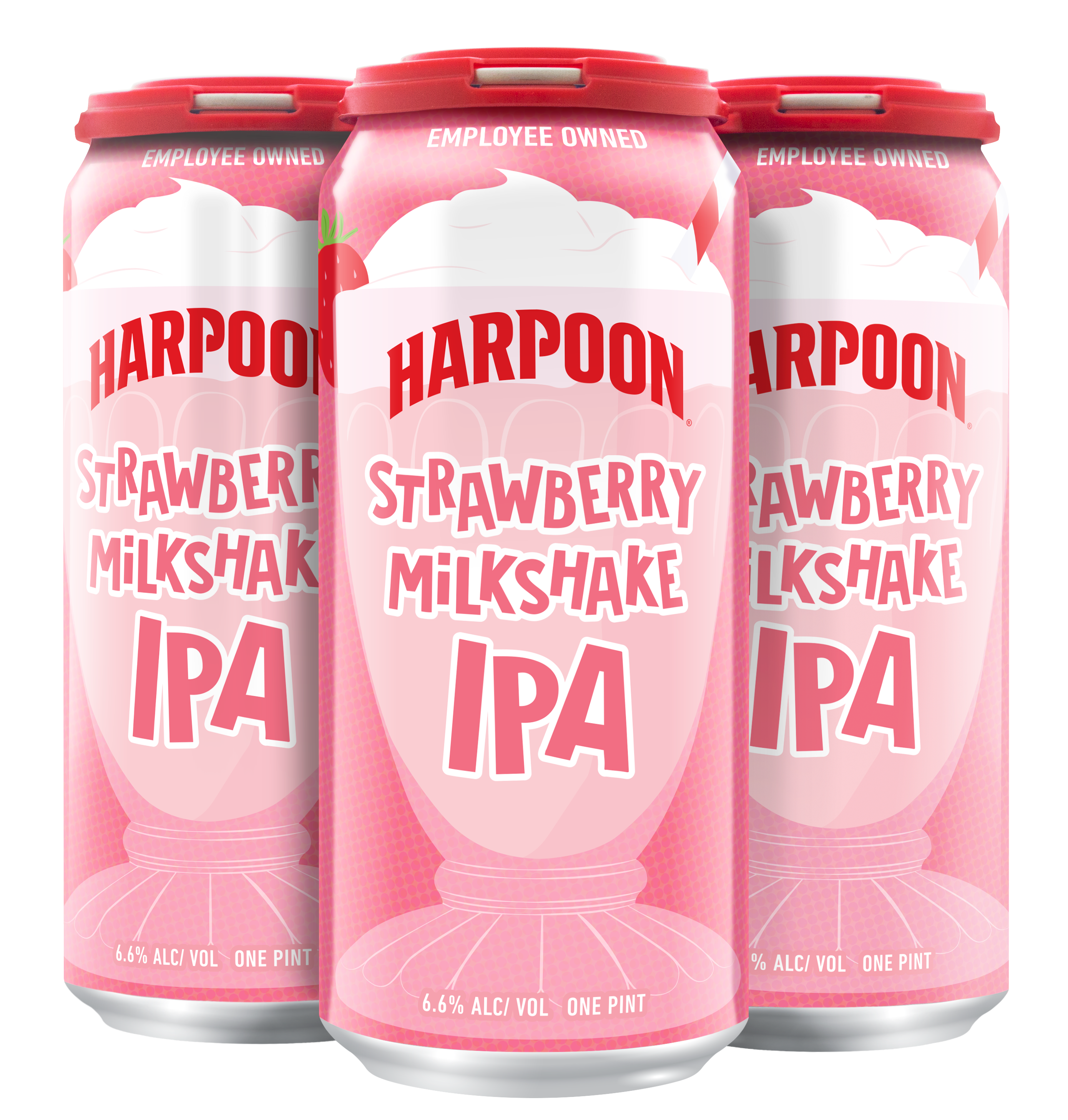 Strawberry Milkshake IPA 16can 4pk